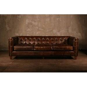 Leather Chesterfield Sofa by PoliVaz