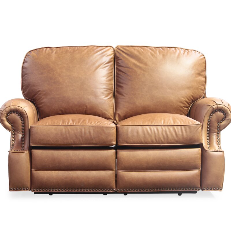 Barcalounger Longhorn Leather Reclining Loveseat Amp Reviews