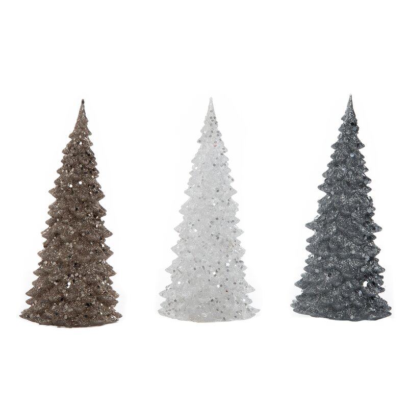 desmond small acrylic light up christmas tree