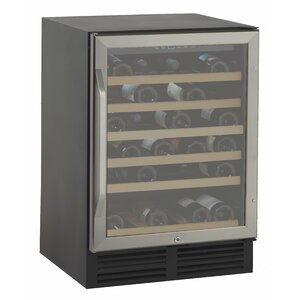 50 Bottle Single Zone Built-In Wine Cooler