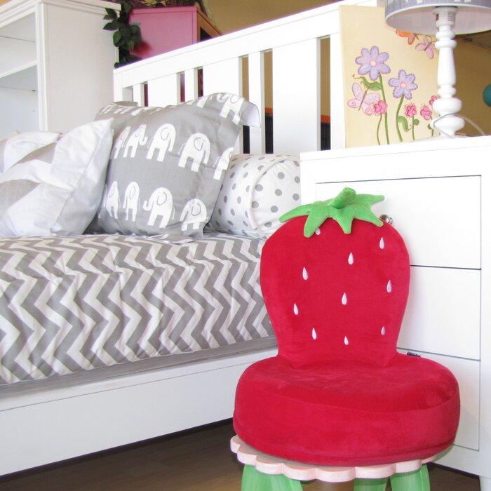 Critter Cushion Strawberry Kids Novelty Chair