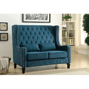 Roquefort Loveseat by Alcott Hill