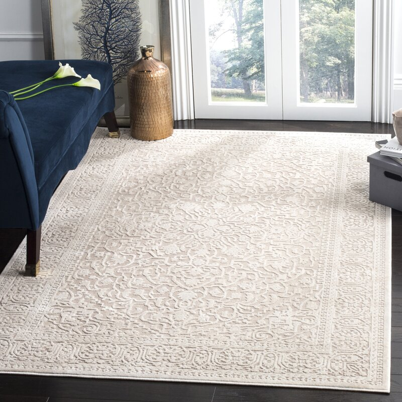 Pellot Beige Cream Area Rug
