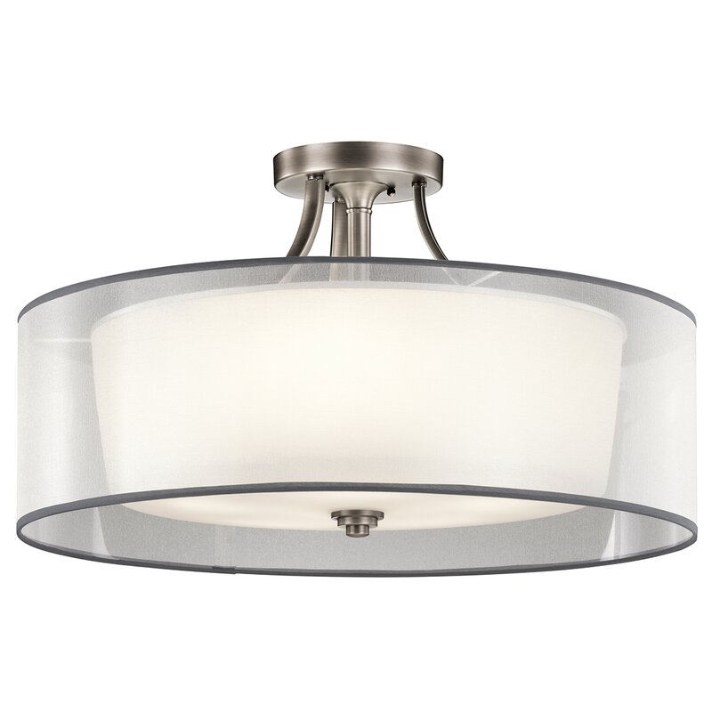 Darby Home Co Boswell 5 Light Semi Flush Mount Reviews