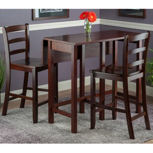 3 Piece Drop Leaf Kitchen Dining Room Sets Youll Love Wayfair