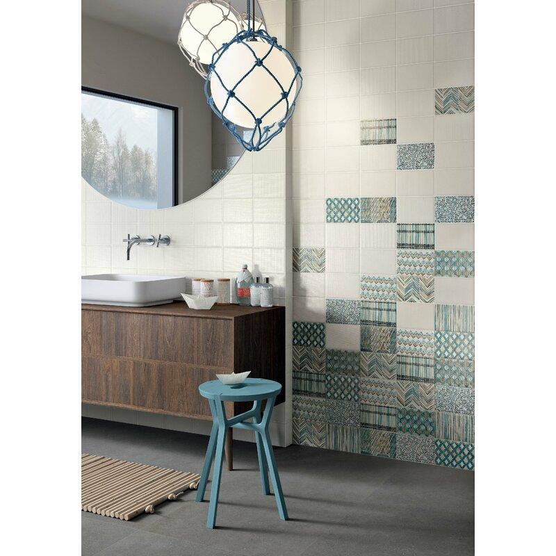 The Bella Collection Makar Italian 475 X 7 Ceramic Field Tile In