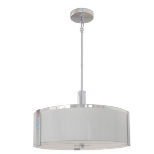 Chiverton 3-Light LED Drum Pendant