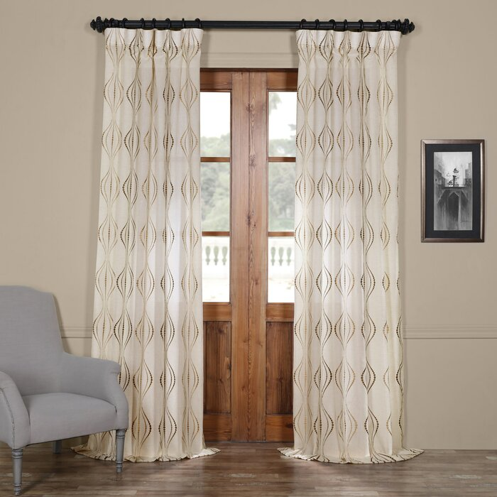 slow leaves window cotton white soul embroidered item drapes blue curtains sheer light rideaux
