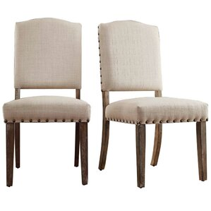 Awesome Pompon Nailhead Side Chair (Set Of 2)