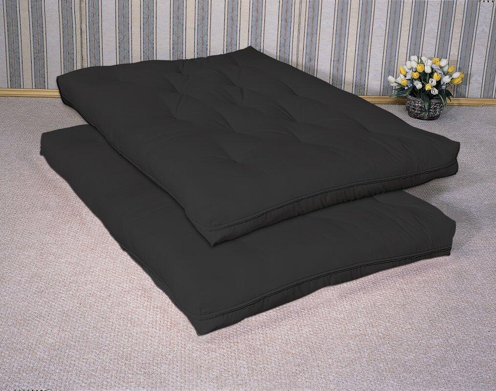 time out 6   foam full size futon mattress wildon home    time out 6   foam full size futon mattress  u0026 reviews      rh   wayfair