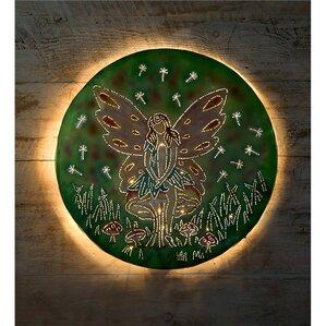 Lighted Wall Decor wall art message decor | wayfair