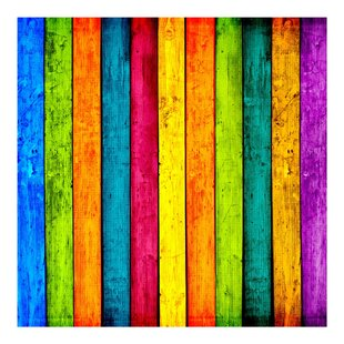 Colourful Palisade 3.36m x 336cm Wallpaper Roll by PPS. Imaging GmbH