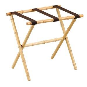 Great Nylon Series Bamboo Inspired Straight Leg Luggage Rack