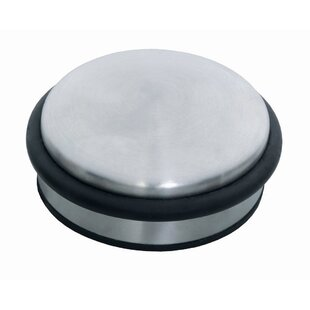 Puck Stainless Steel Door Stop