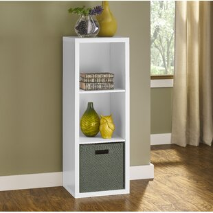 Decorative Storage 112cm Bookcase By Closetmaid