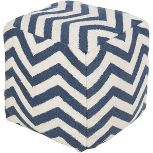 Angell Square Pouf Ottoman by Brayden Studio