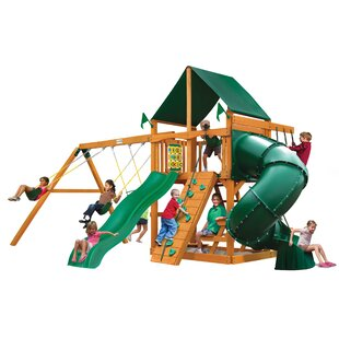 Mountaineer Swing Set with Canopy Roof  sc 1 st  Wayfair & Swing Set Canopy | Wayfair