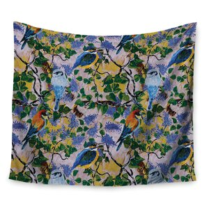Birds by DLKG Design Wall Tapestry
