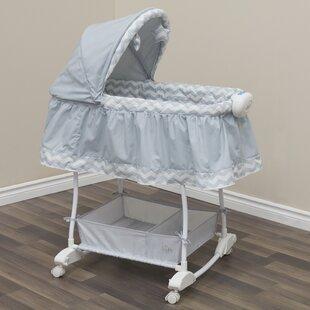 Loyal Portable Baby Crib Bassinet Folding Travel Nursery Infant Cradle Sleeping Bed Lustrous Bassinets & Cradles