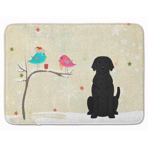 Christmas Presents Labrador Memory Foam Bath Rug