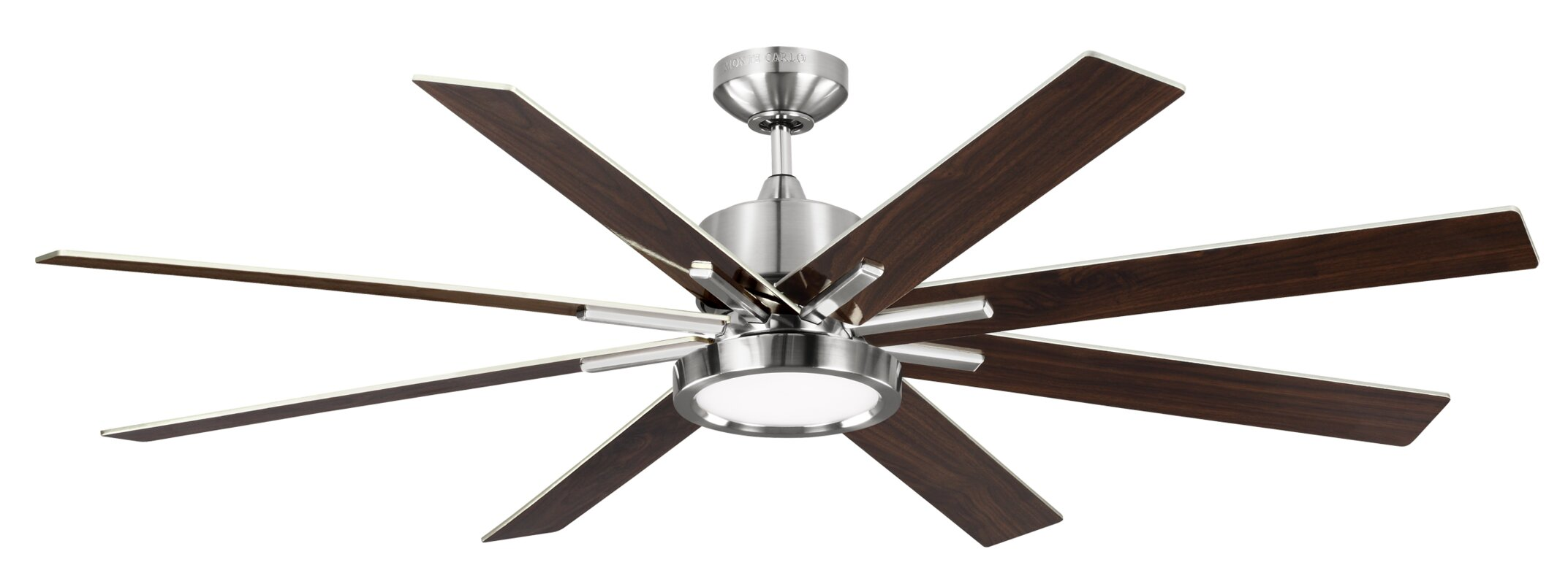 "wade logan 60"" woodlynne 8 blade outdoor ceiling fan with remote"