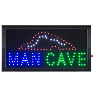 0bb672fbb35d Personalized Man Cave Sign | Wayfair