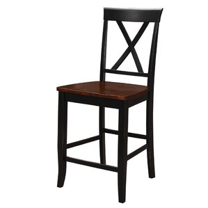 Otto Solid Wood Dining Chair (Set of 2) by Red Barrel Studio