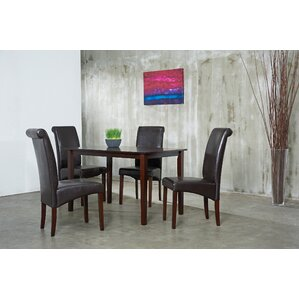 Jasmine 5 Piece Dining Set by Warehouse of Tiffany