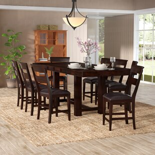 Townson 9 Piece Counter Height Dining Set
