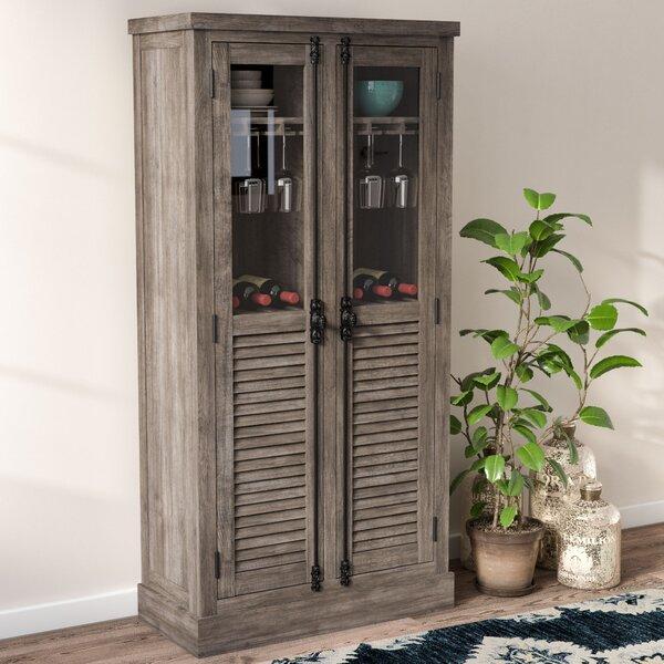 wet bar cabinet with sink wayfair. Black Bedroom Furniture Sets. Home Design Ideas