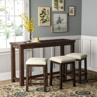 Ismay 4 Piece Pub Table Set