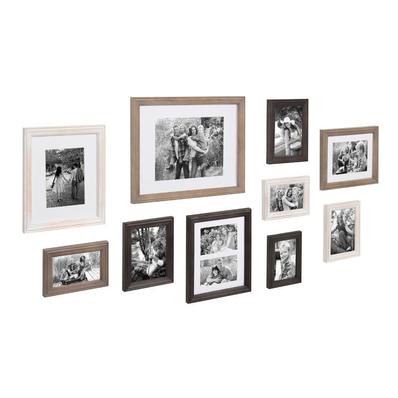 10 Piece Mcclaskey Gallery Picture Frame Set Reviews Joss Main