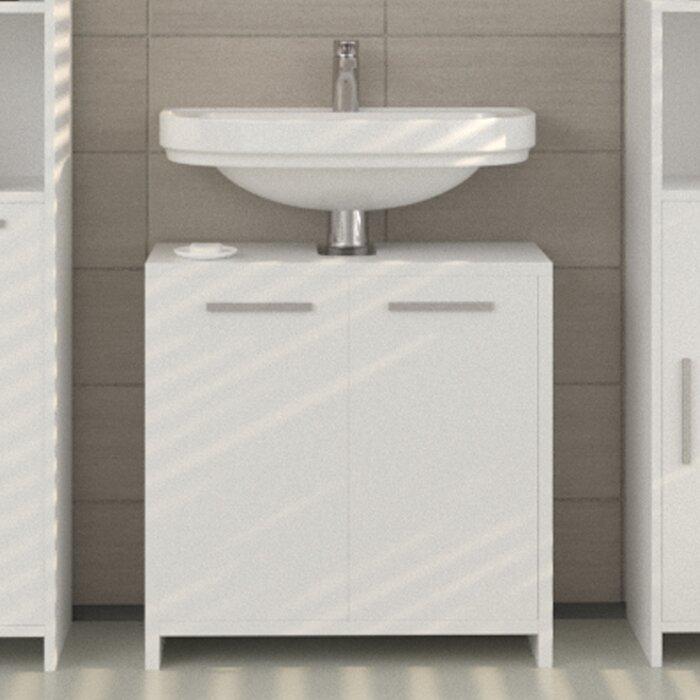 Excellent Vice 58Cm Under Sink Storage Unit Home Interior And Landscaping Mentranervesignezvosmurscom