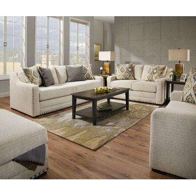 White living room sets you 39 ll love wayfair - Simmons living room furniture sets ...