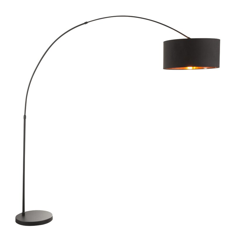 Jessup 76 Quot Arched Arc Floor Lamp Amp Reviews Allmodern