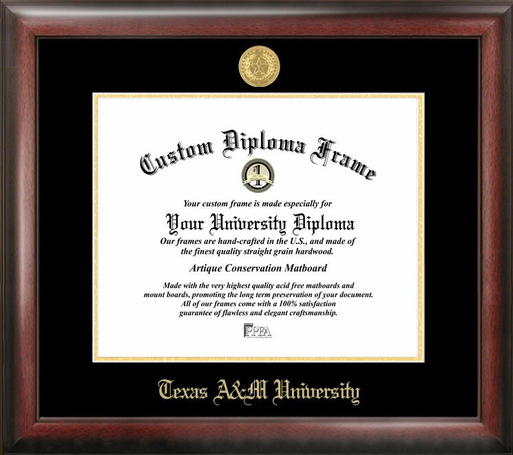 Campus Images NCAA Texas A&M University Diploma Picture Frame ...