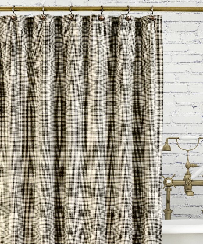 Morrison Cotton Plaid Shower Curtain