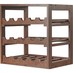 15 Bottle Tabletop Wine Rack by August Grove