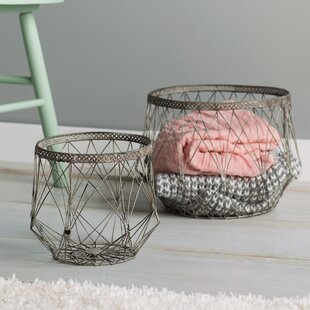 Large Rectangular Wire Baskets   Wayfair