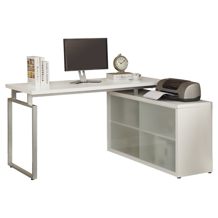 Cramer l shaped computer desk reviews allmodern for Cramer furniture
