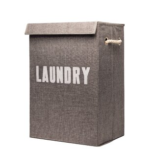 Cool laundry baskets Trendy Foldaway Laundry Basket Wayfair Laundry Baskets Collapsible Wicker Linen More Youll Love