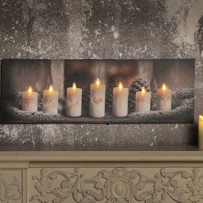 christmas wall art decor you 39 ll love wayfair. Black Bedroom Furniture Sets. Home Design Ideas