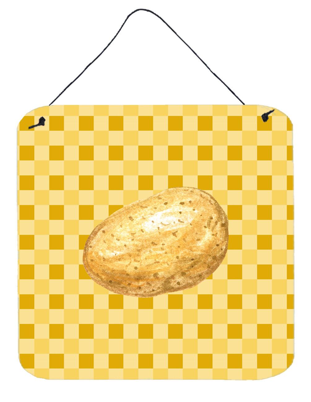 East Urban Home Potato on Basketweave Wall Décor | Wayfair