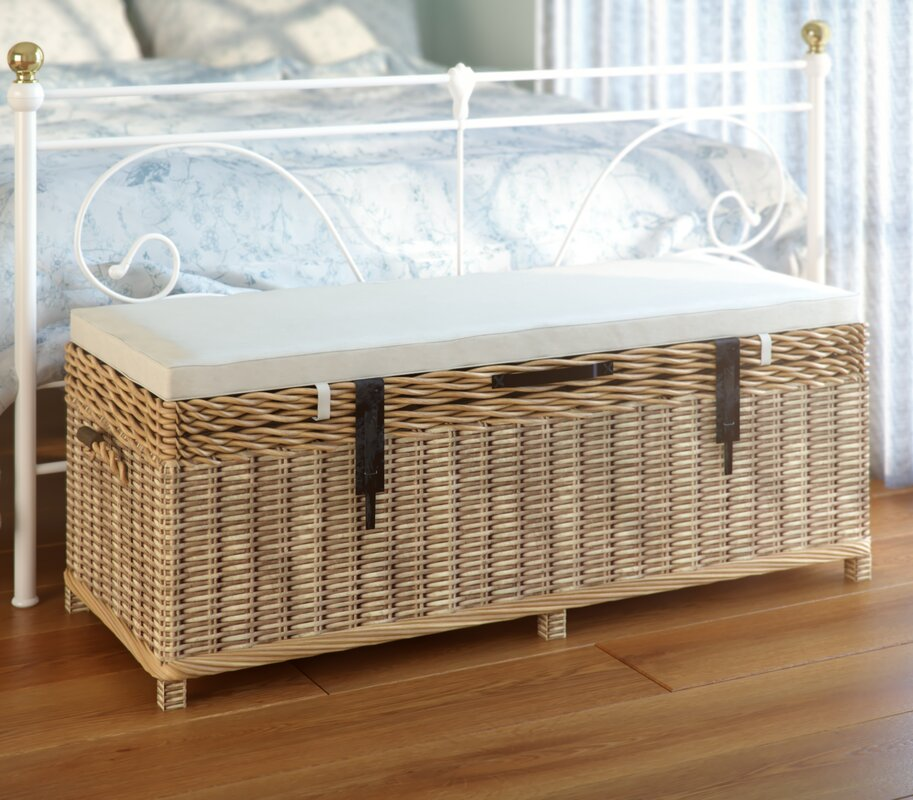 August Grove Belgrade Bench With Storage & Reviews