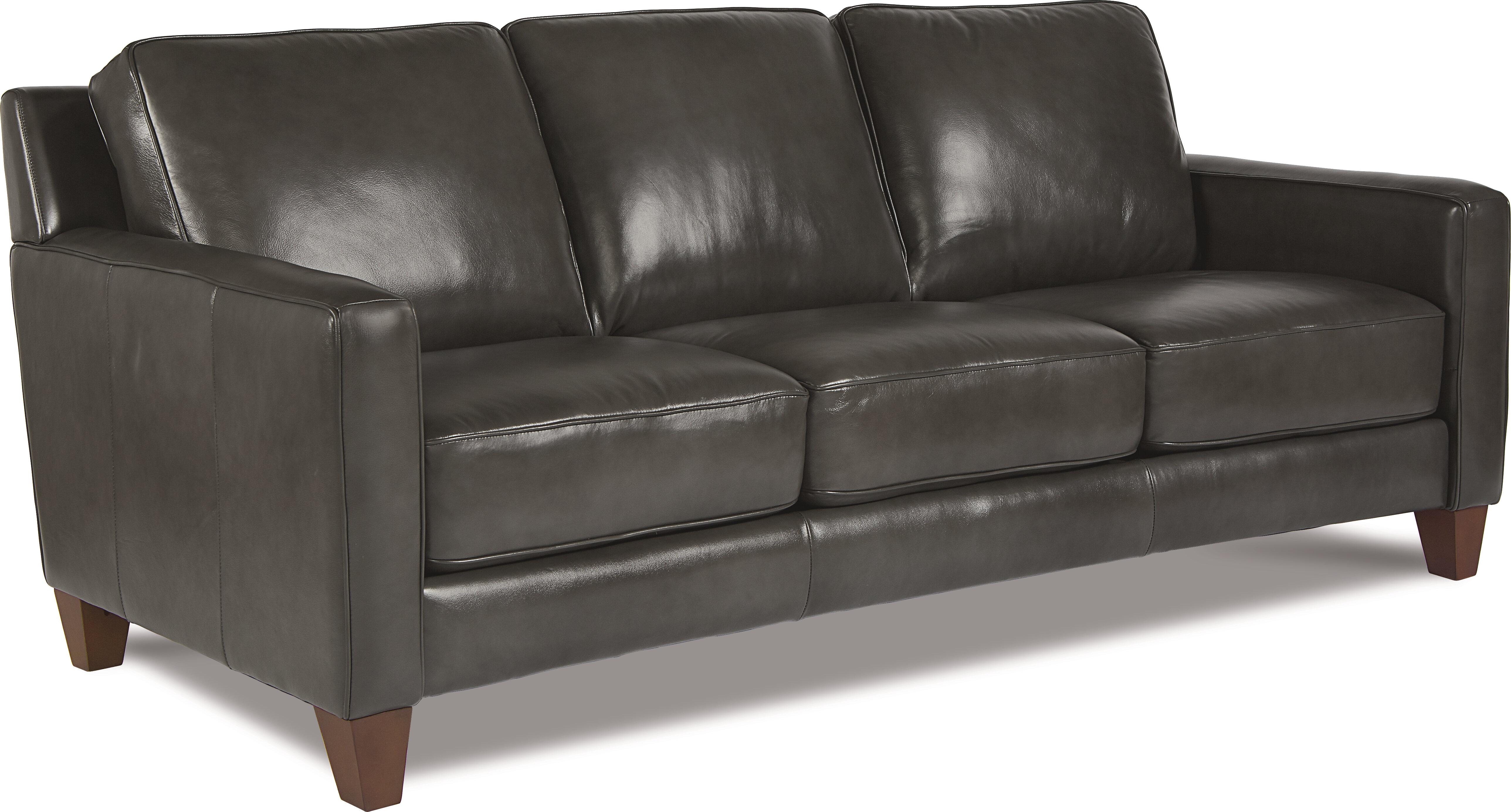 La-Z-Boy Archer Leather Sofa | Wayfair