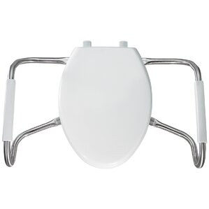 bemis raised toilet seat. Medic Aid Closed Front Elongated Toilet Seat Bemis Raised Seats You ll Love  Wayfair