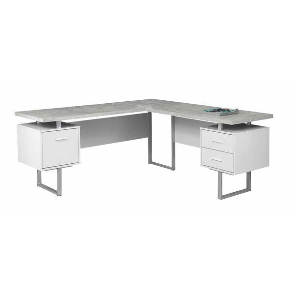 Darroll L Shape Corner Desk Amp Reviews Allmodern