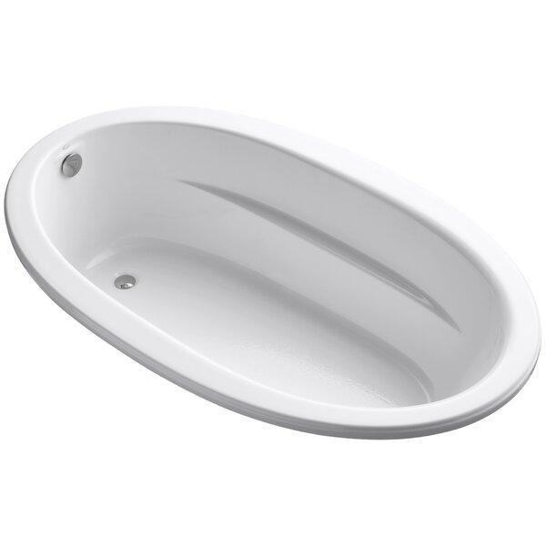 Kohler Sunward 72 Quot X 42 Quot Soaking Bathtub Amp Reviews Wayfair