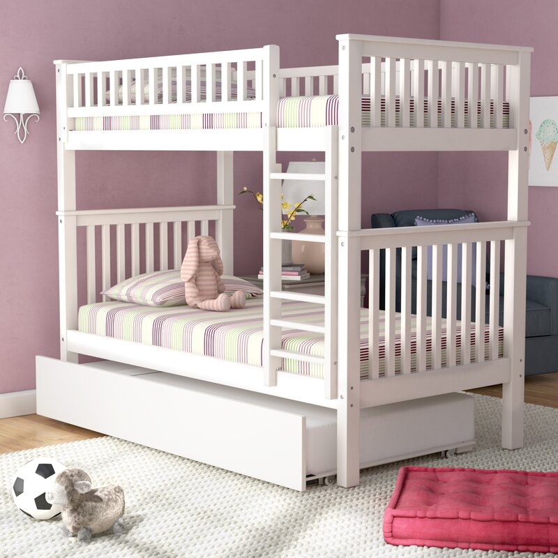 Viv Rae Shultis Twin Over Twin Bunk Bed With Trundle Reviews