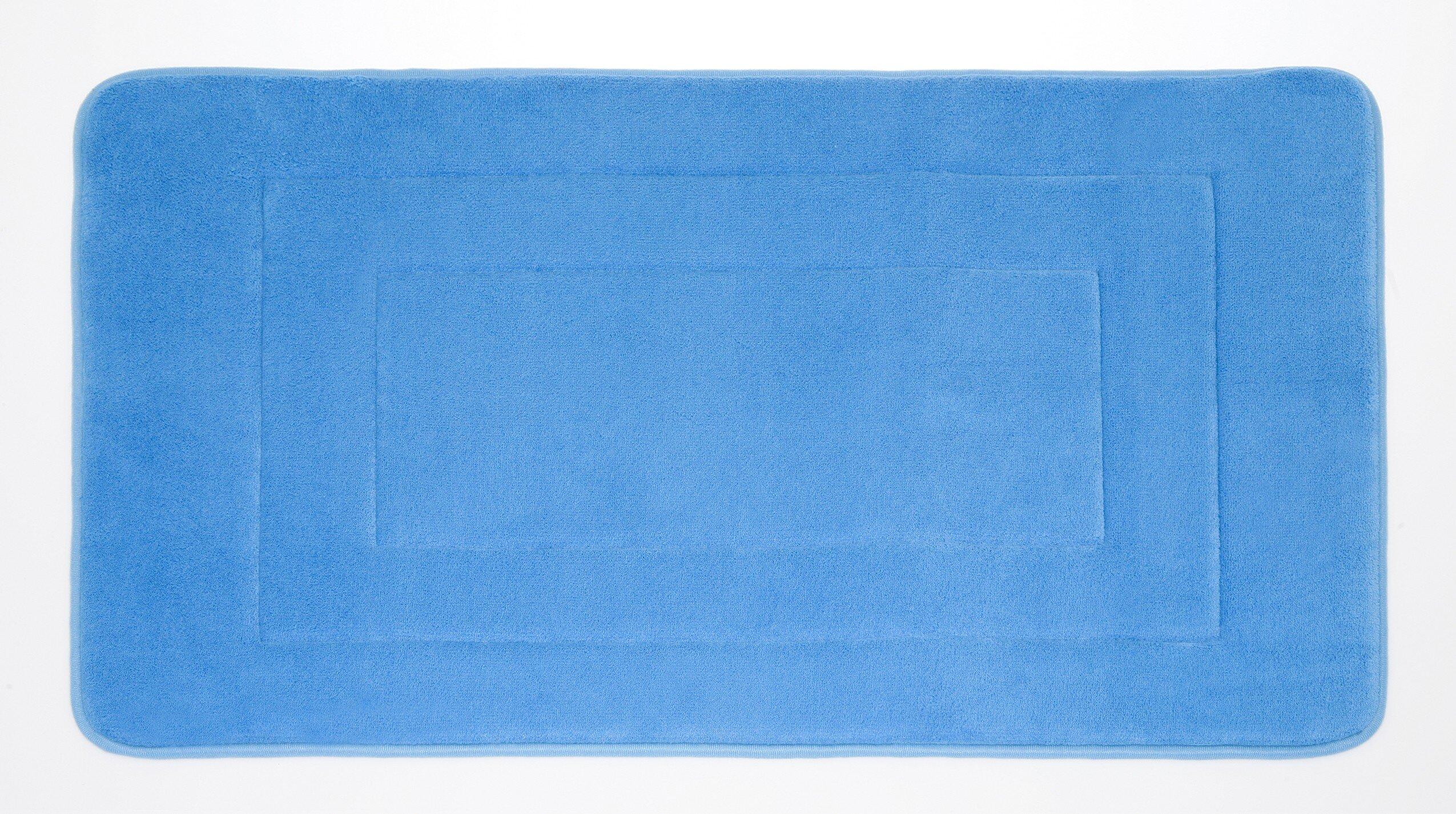 Deluxe Comfort Microfiber Absorbing Bath Mat & Reviews   Wayfair